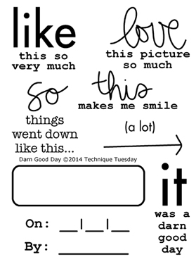 Technique-Tuesday-Darn-Good-Day-Clear-Stamp-Medium