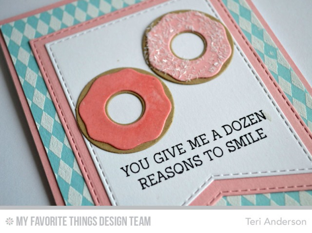 Donut Smile card