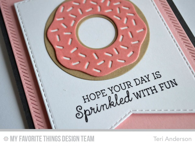 Sprinkled card