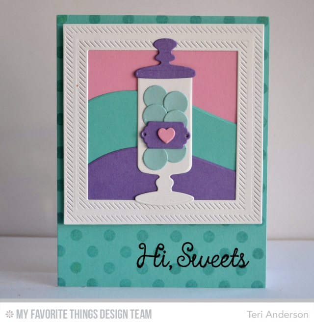 Hi Sweets card