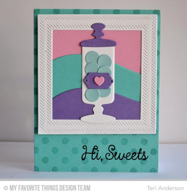 Hi Sweets card