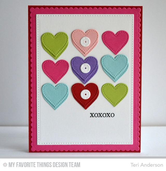 XOXOXO card
