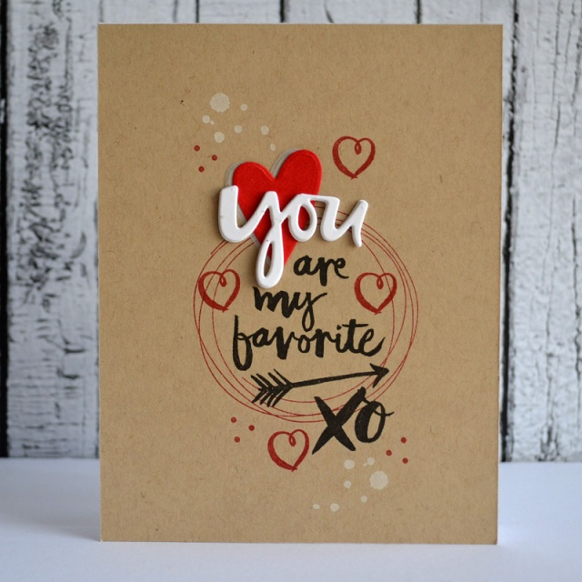 You Are card by Teri