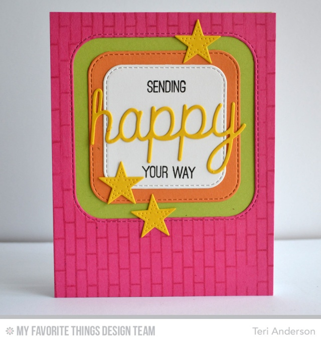 Happy Stars card by Teri
