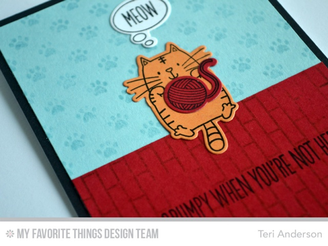 Meow card by Teri