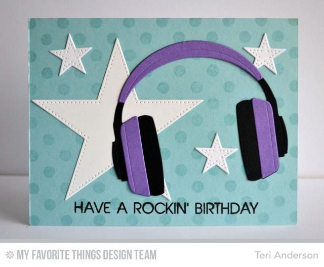 Rockin' Birthday card