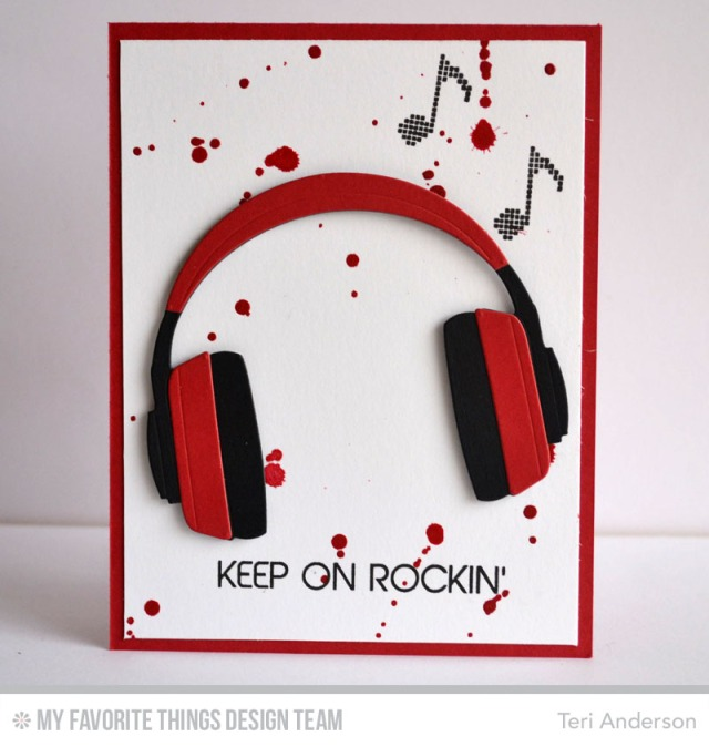 Keep on Rockin' card