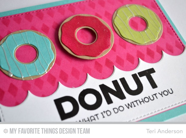 Donut Trio card