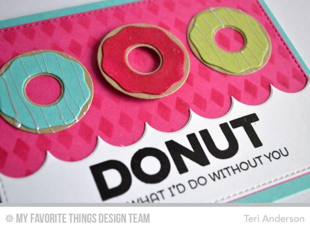 Donut Trio card