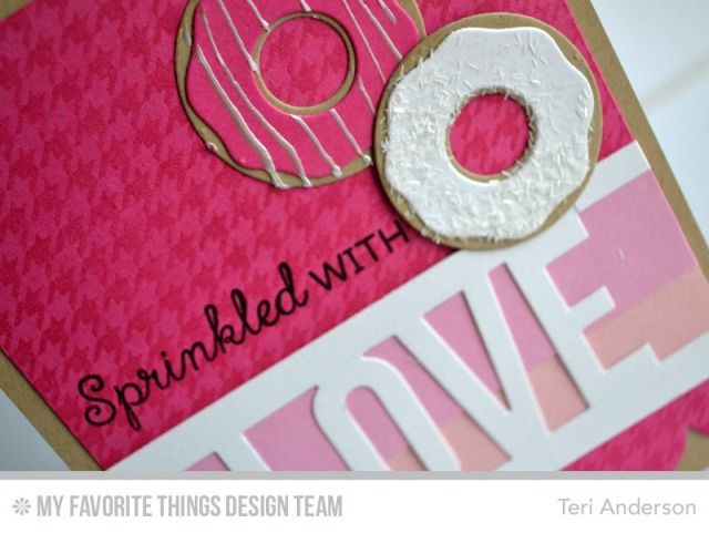 Sprinkled with Love card