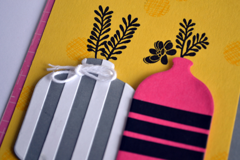 Striped Vases by Teri
