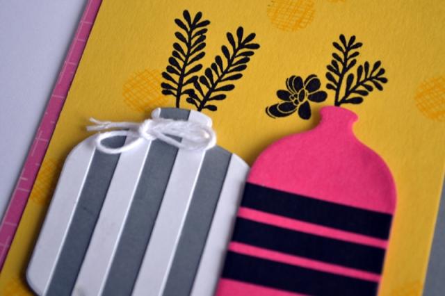 Striped Vases by Teri