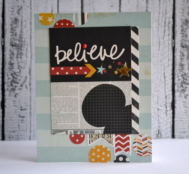 Believe card by Teri