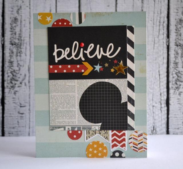 Believe card by Teri