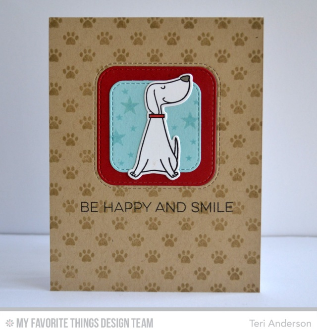 Be Happy card by Teri