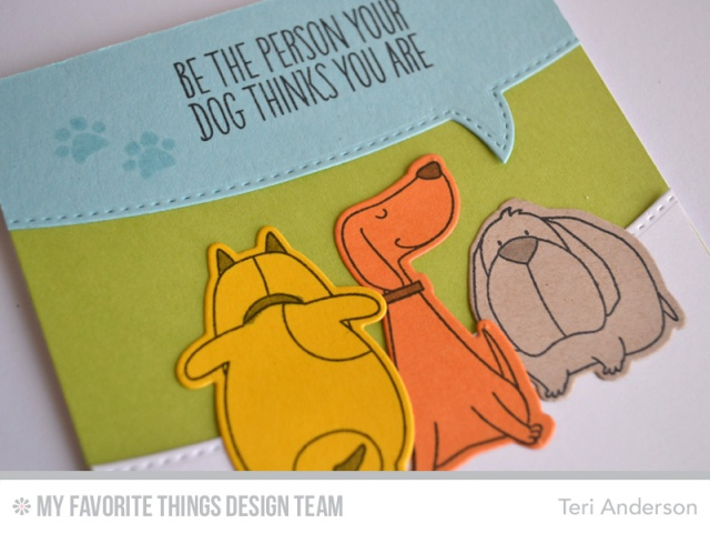Be the card by Teri