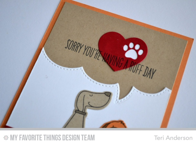 Ruff Day card by Teri