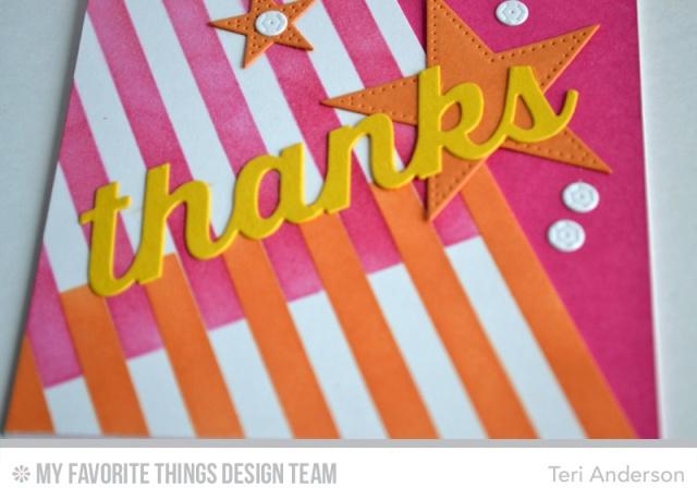 Thanks Stripes by Teri