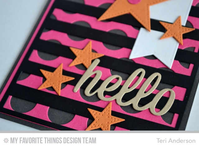 Hello Stripes Dots by Teri