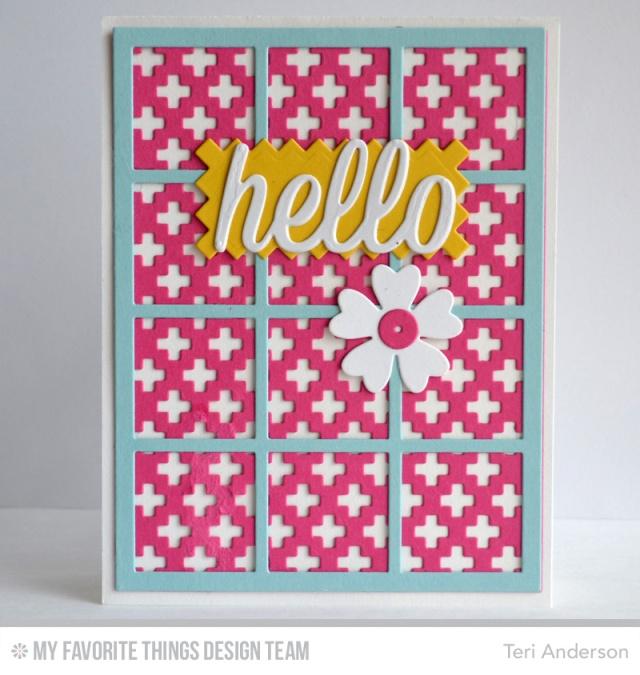 Hello Grid card by Teri
