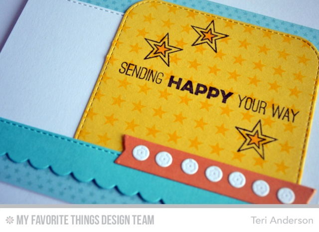 Sending Happy by Teri