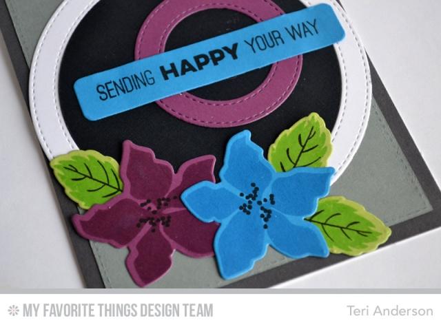 Sending Happy by Teri