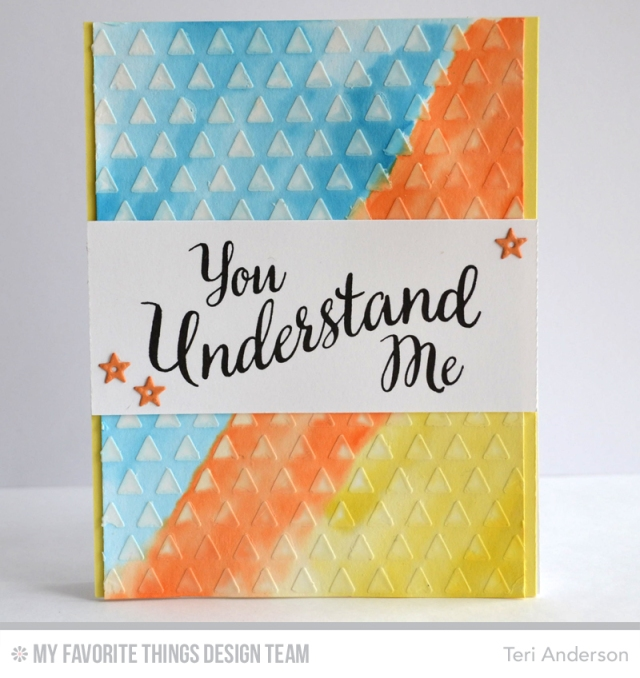 You Understand Me by Teri