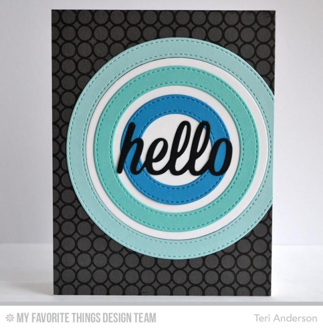 Hello Circles by Teri