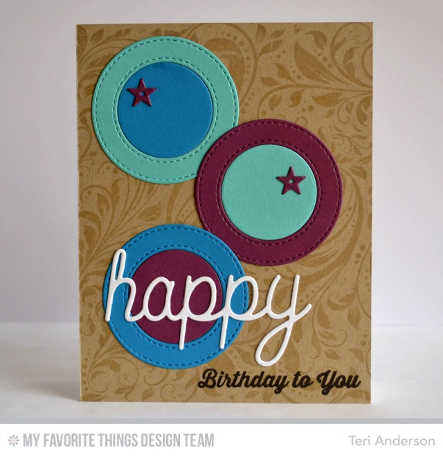 Happy Circles by Teri