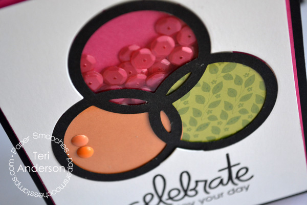 Celebrate Circles card by Teri