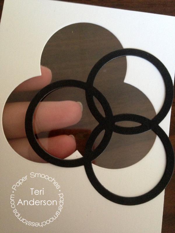 Celebrate Circles card by Teri