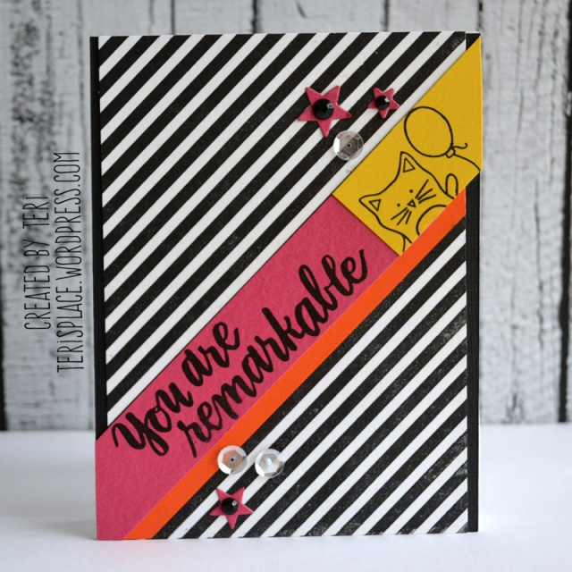 You Are Remarkable card by Teri