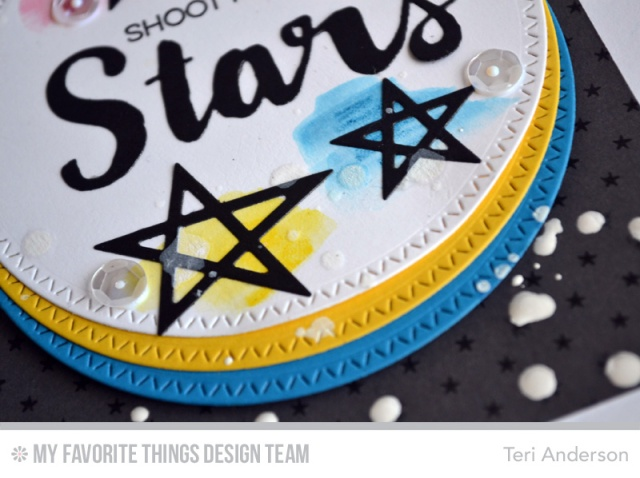 Shoot for the Stars card by Teri