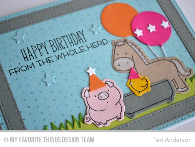 Birthday Herd by Teri