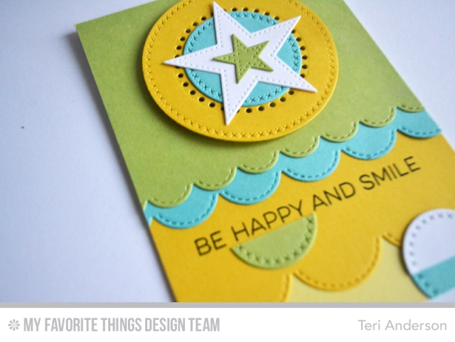 Be Happy and Smile card by Teri