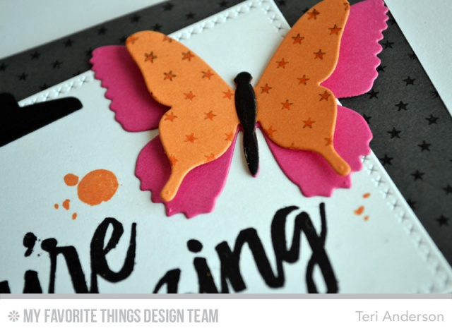 Amazing Butterfly card by Teri