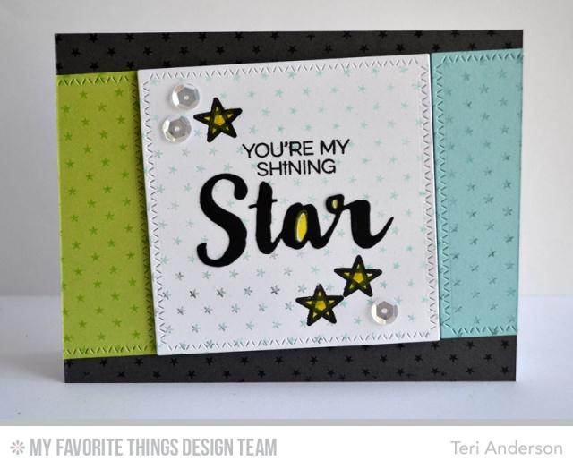 Shining Star card by Teri