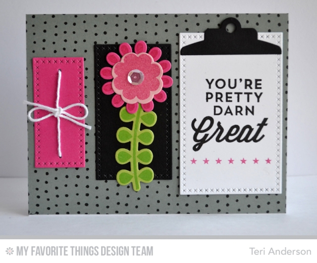 Great Clipboard card by Teri
