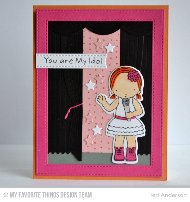 You Are My Idol card by Teri