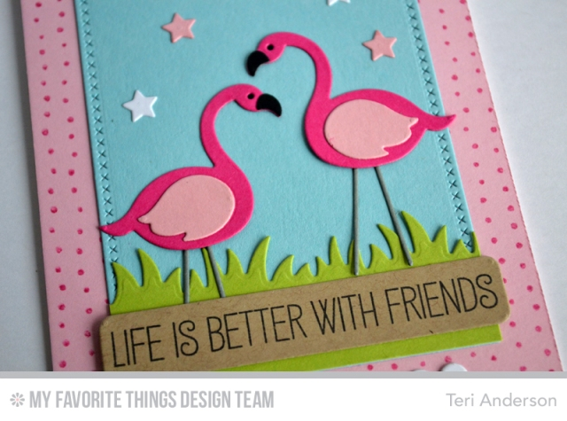 Better With Friends card by Teri