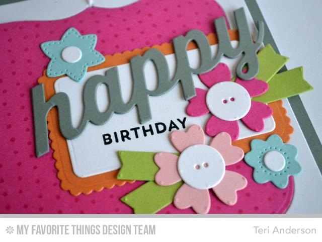 Happy Birthday Flowers by Teri