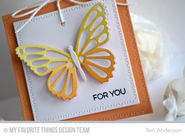 For You Butterfly Tag by Teri