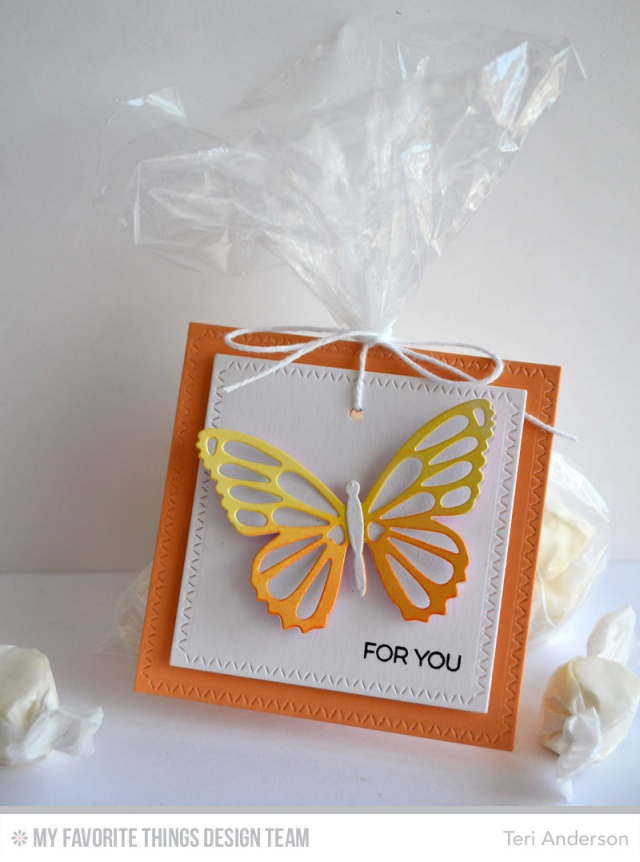 Butterfly Tag by Teri