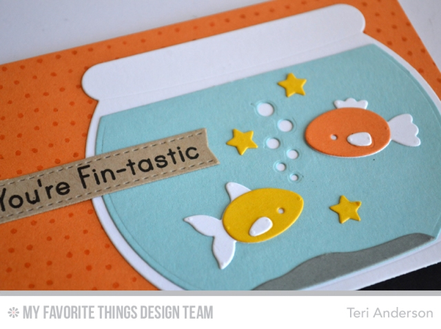 Fintastic card by Teri