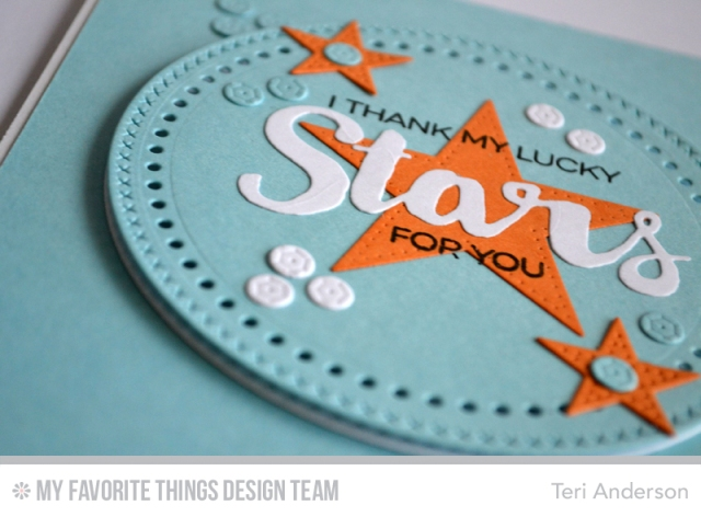 Lucky Stars card by Teri