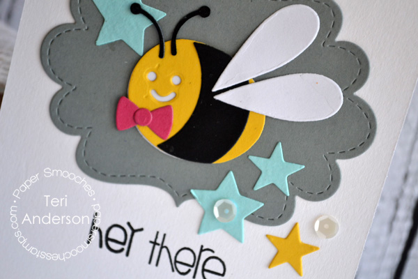 Hey There, Mister Bee by Teri