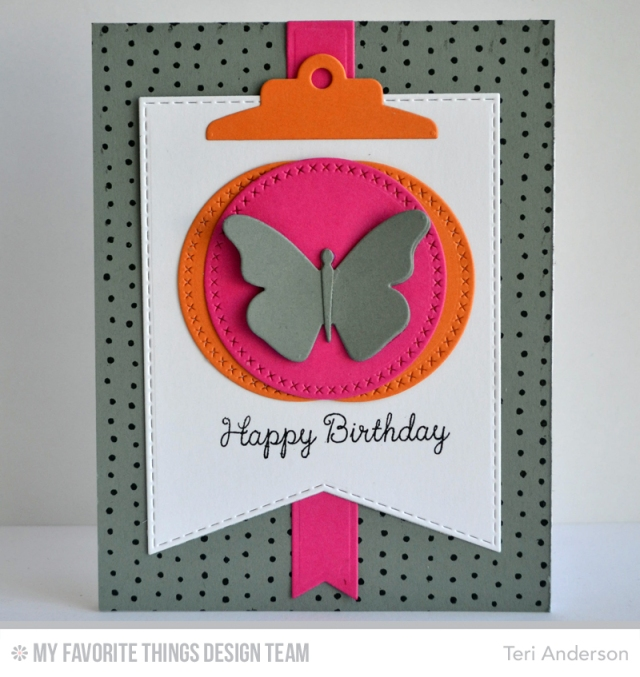 Birthday Butterfly card by Teri