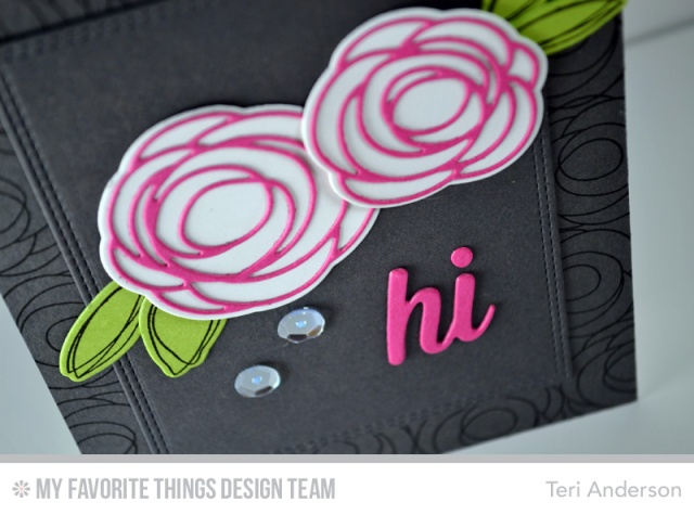 Hi Buds card by Teri