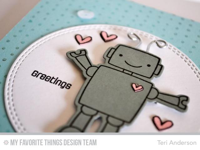Greetings Robot by Teri