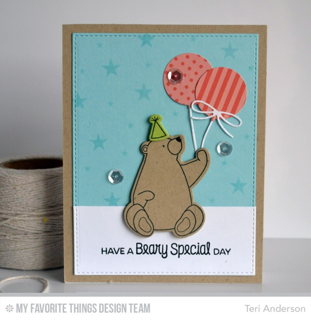 Beary Special card by Teri